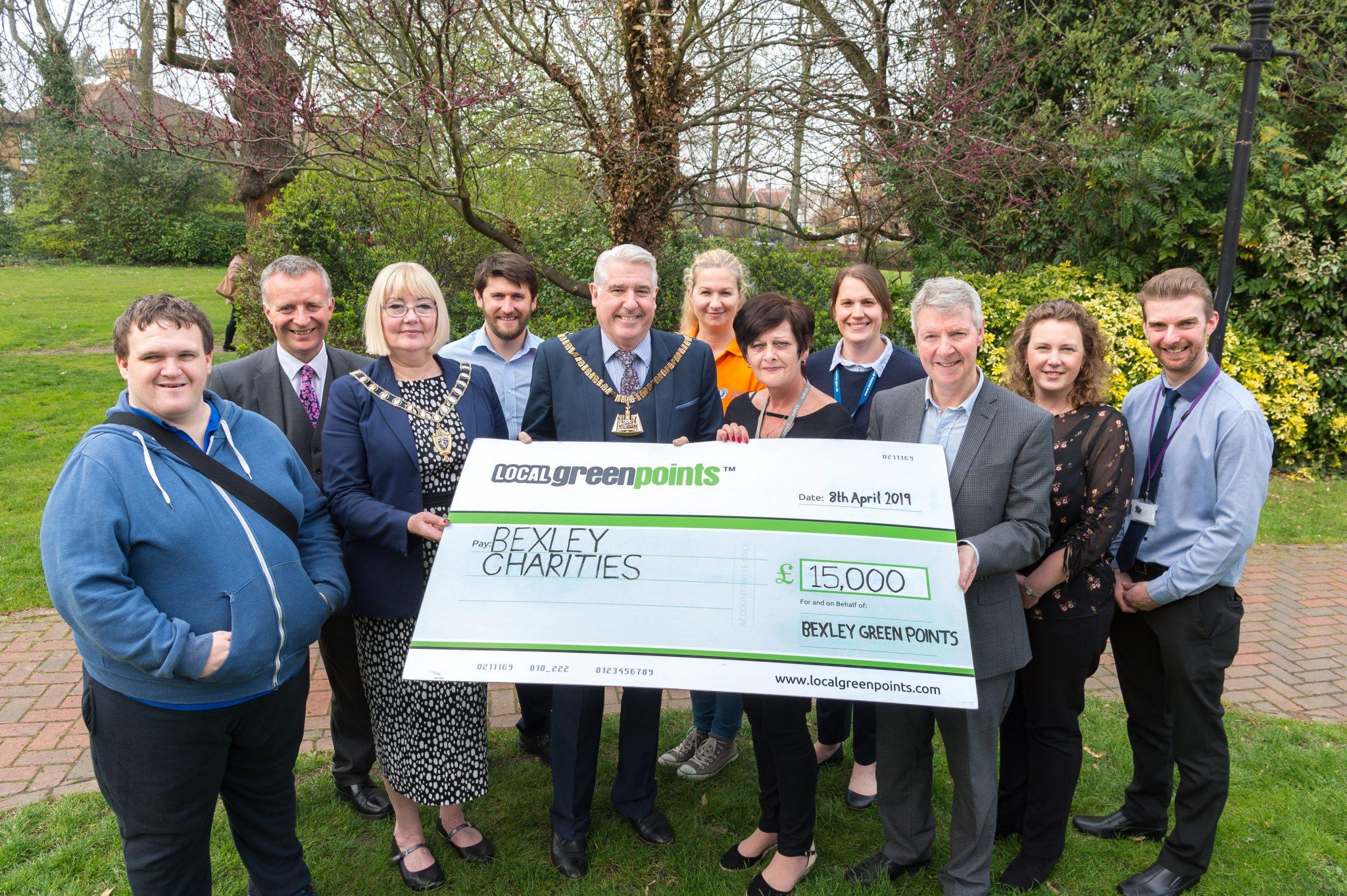 Bexley charities receive £5,000